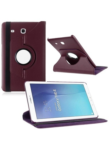 Techmaster Samsung Tab S2 T710 T717 Kılıf Standlı Mor